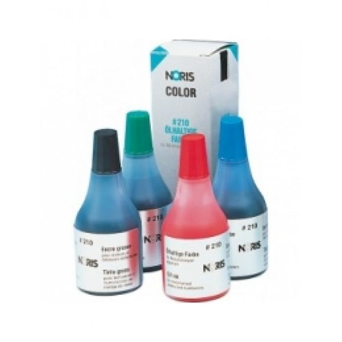210Штемпельная краска быстросохнущая 25мл на масл. основе
