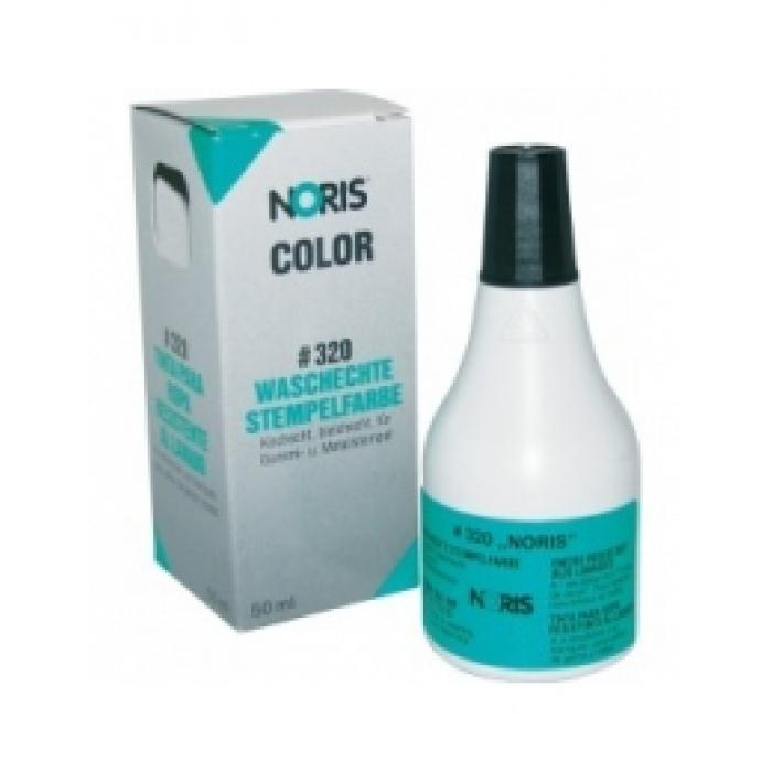 320Штемпельная краска для тканей 50мл на спирт. основе (черная)