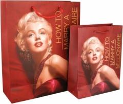 8502-03-A Пакет бумаге. подарочный Monroe, 26х32см