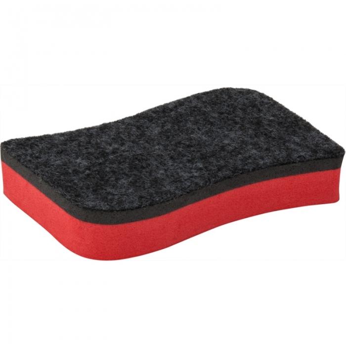 Губка для досок Axent 9804-04-A, красная
