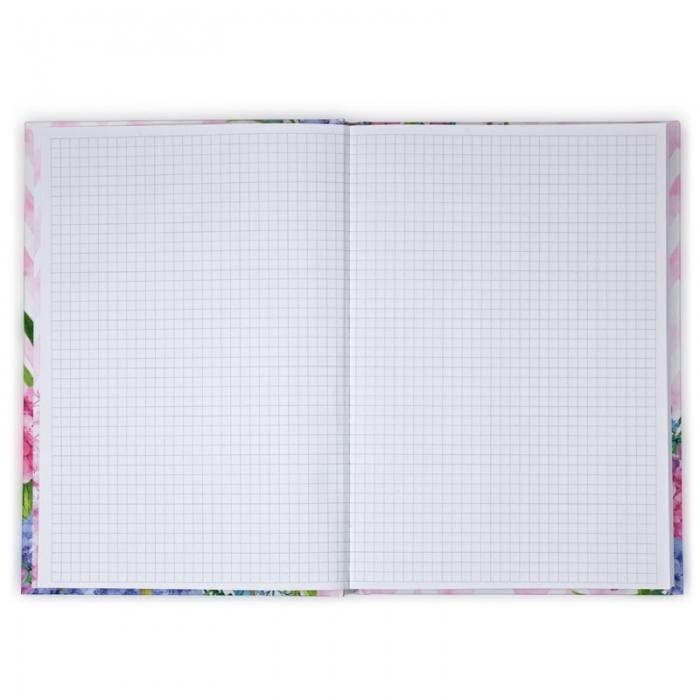 Книга записная Axent Aquarelle 8433-06-А, твердая обложка, В5, 80 листов, клетка