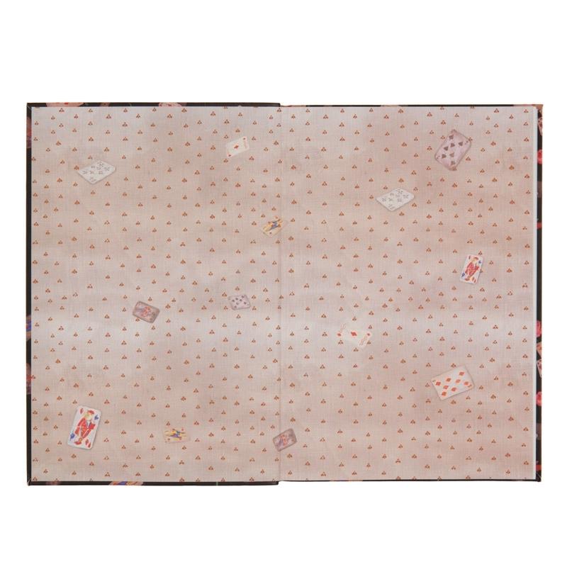 Книга записная в интегральной обложке Axent Alice 8436-02-A, B5, клетка