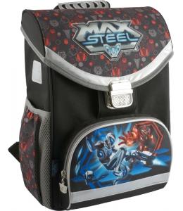 mx14-529k рюкзак школьный каркасный 529 max steel 25624