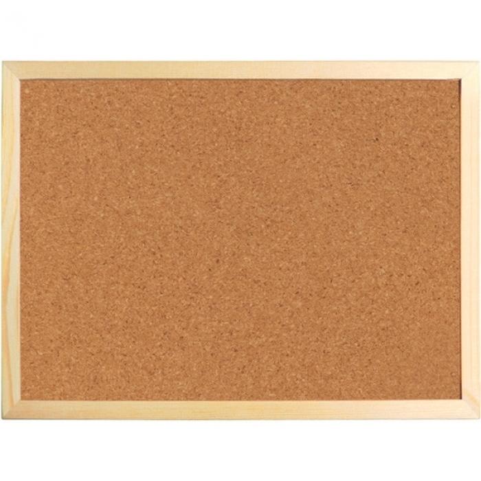 Доска пробковая , 60х90см., Деревянная рамка 9602 - А