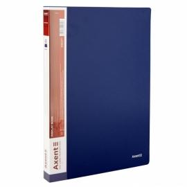 Дисплей-книга Axent 1040-A, А4, 30 файлов, ассорти цветов