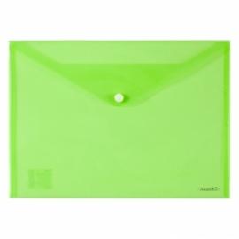 Папка на кнопке Axent 1402-A, А4, глянцевая, ассорти цветов