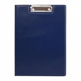 Папка-планшет с металлическим клипом Axent 2513-A, A4 черная, синяя