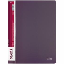 Дисплей-книга Axent 1060-11-A, A4, 60 файлов, сливовая