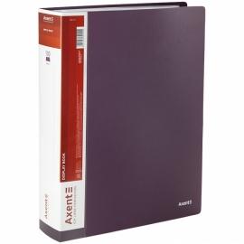 Дисплей-книга Axent 1200-11-A, A4, 100 файлов, сливовая