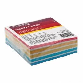 Бумага для заметок Axent Delta Color D8024, 90х90х30 мм, проклеенная