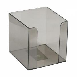 Куб для бумаги Axent Delta D4005, пластиковый, 90х90х90 мм,  ассортимент цветов