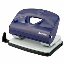 Дырокол Axent Exakt-2 3920-A металлический, 20 листов, ассортимент цветов