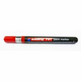 Маркер Edding Paint e-791, 1-2 мм, круглый, ассортимент цветов