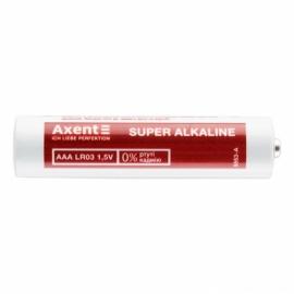 Элемент питания Axent 5553-A ААА LR03 1.5V,4 штук/упаковка, щелочной