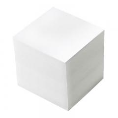 Блок для записи 9*9*9 см, белый, непроклеенная