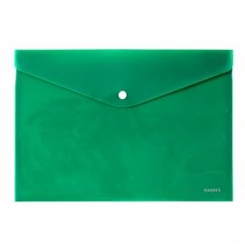 Папка на кнопке Axent 1412-22-A, А4, непрозрачная, ассортимент цветов