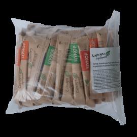 Сахар-песок в стиках (5 г х 100 шт,) 0,5кг, zip-пакет
