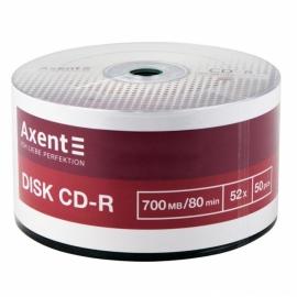 CD-R Axent 8102-A 700MB/80min 52X, 50 штук, bulk