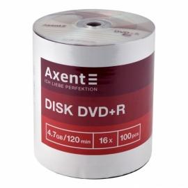 DVD+R Axent 8107-A 4,7GB/120min 16X, 100 штук, bulk