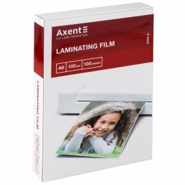 Плёнка для ламинирования Axent 2060-A, 100 мкм, A6, 111x154 мм, 100 штук