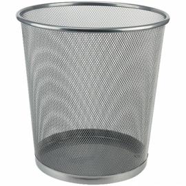 Корзина для бумаги Axent 2119-03-A, 260x280 мм, металлическая сетка, серебристая