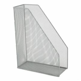 Лоток вертикальный металлический Axent 2120-03-A, 100x250x320 мм, серебряный