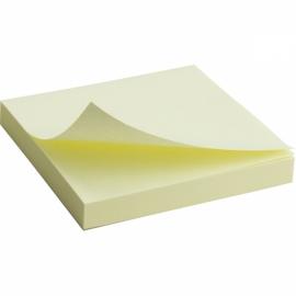Блок бумаги с липким слоем Axent 2314-A, 75x75 мм, 100 листов, ассортимент цветов