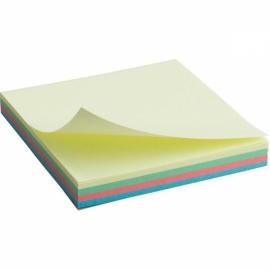 Блок бумаги с липким слоем Axent 2325-01-A, 75x75 мм, 100 листов, пастельные цвета