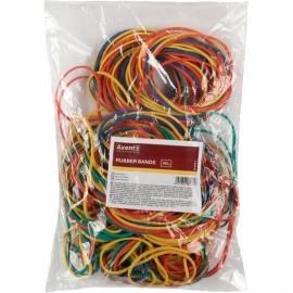 Резинки для денег Axent Delta D4621, 200 г, цветные