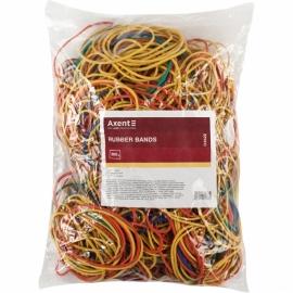 Резинки для денег Axent Delta D4622, 500 г, цветные