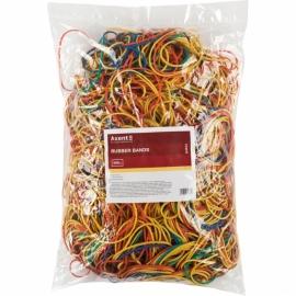 Резинки для денег Axent Delta D4623, 1000 г, цветные