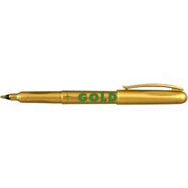 Маркер  Centropen Gold 2670, 1 мм, золотой, серебряный