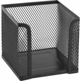 Куб для бумаги Axent 2112-01-A, металлическая сетка, 100х100х100 мм, черный