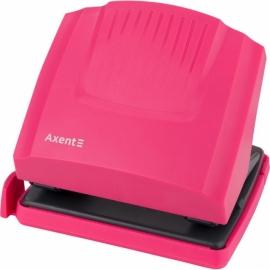 Дырокол Axent Shell 3430-A с пластиковым верхом, 30 листов, ассортимент цветов