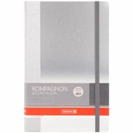 Книга записная Компаньон Aluminium, А5, 96 л. 105522005