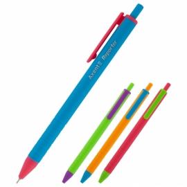 Ручка масляная автоматическая Axent Reporter AB1069-02-A, 0.7 мм, синяя