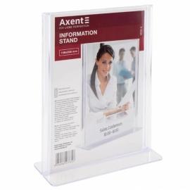 Табличка информационная Axent 4539-A, А5, вертикальная