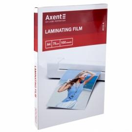 Плёнка для ламинирования Axent 2010-A, 75 мкм, A4, 216 x 303 мм, 100 штук