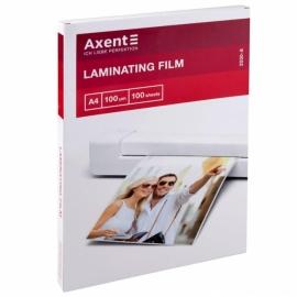 Плёнка для ламинирования Axent 2030-A, 100 мкм, A4, 216 x 303 мм, 100 штук