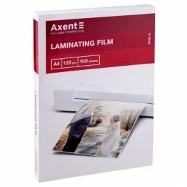 Плёнка для ламинирования Axent 2040-A, 125 мкм, A4, 216 x 303 мм, 100 штук