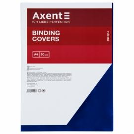 Обложка пластиковая Axent 2720-A прозрачная, А4, 50 штук, ассортимент цветов