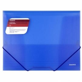 Папка на резинках Axent 1501-A, А4, прозрачная,  А4, ассортимент цветов