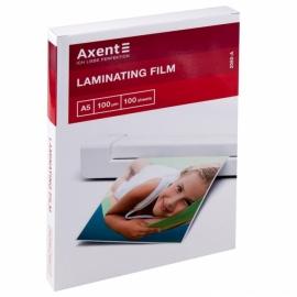 Плёнка для ламинирования Axent 2080-A, 100 мкм, A5, 154х216 мм, 100 штук