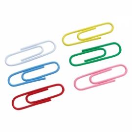 Скрепки цветные Axent 4106-A, 28 мм, 100 штук