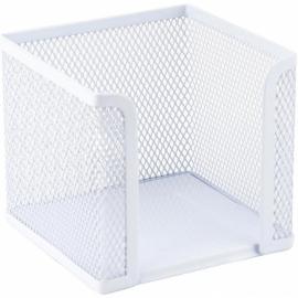 Куб для бумаги Axent 2112-21-A, металлическая сетка, 100х100х100 мм, белый