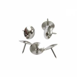 Кнопки никелированные Axent 4201-A, 50 штук