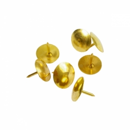 Кнопки омедненные Axent 4202-A, 50 штук