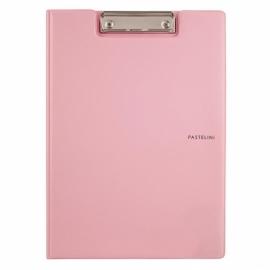 Папка-планшет с металлическим клипом Axent Pastelini 2514-A, A4, ассортимент цветов