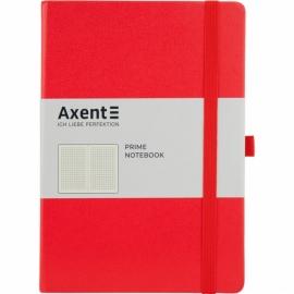 Книга записная Axent Partner Prime 8305-11-A, A5, 145x210 мм, 96 листов, клетка, твердая обложка, ассортимент цветов