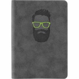 Книга записная Axent Nuba Soft 8604-A, A6+, 115x160 мм, 96 листов, клетка, гибкая обложка
